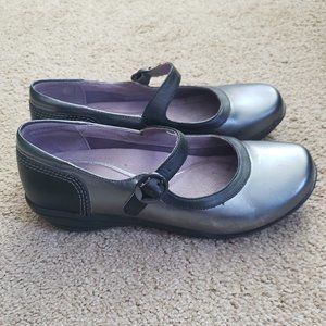 DANSKO Misty Flat Mary Jane Shoes Pewter
